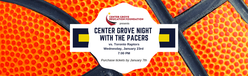 Center Grove Night with the Pacers